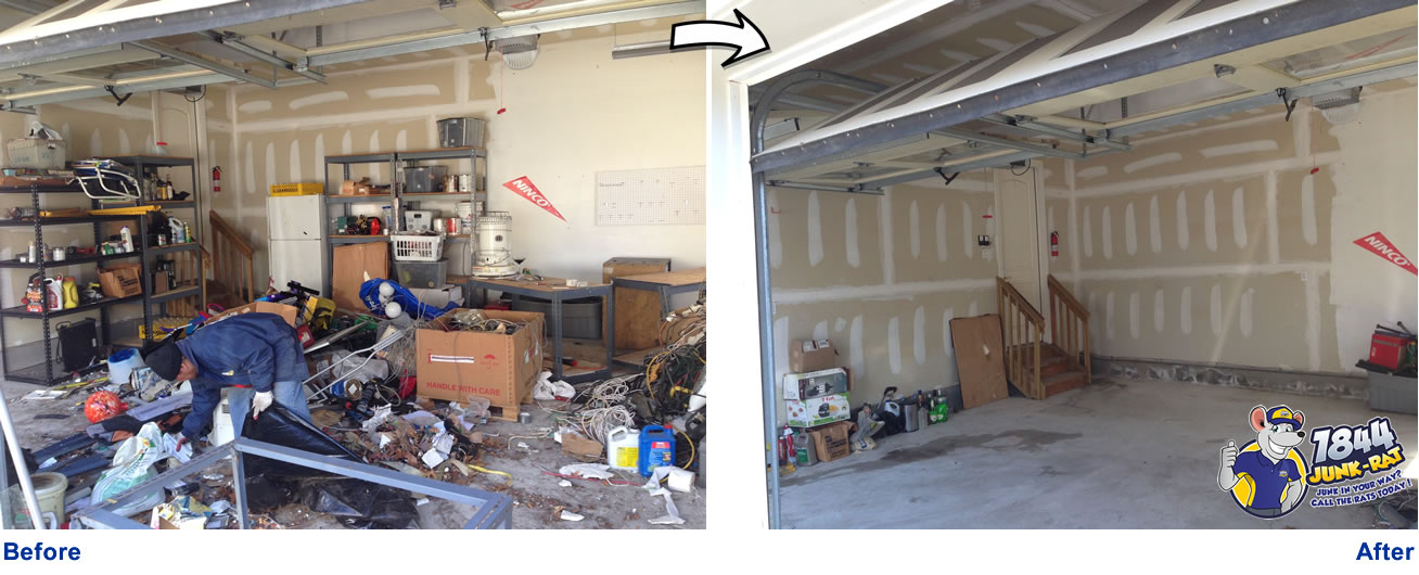 garage cleanout maximum cleaning services