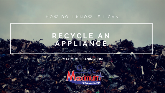 How Do I Know If I Can Recycle an Appliance?