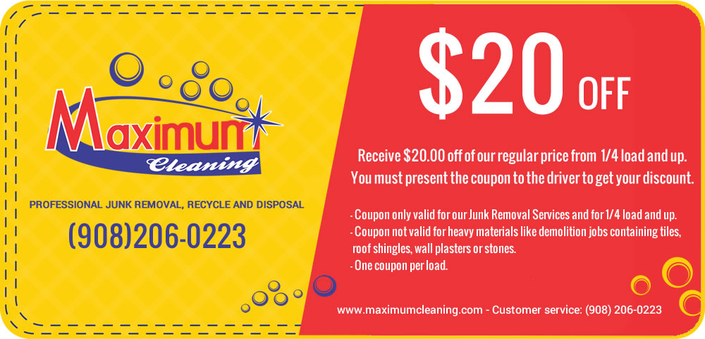 Maximum Cleaning Coupon Union New Jersey